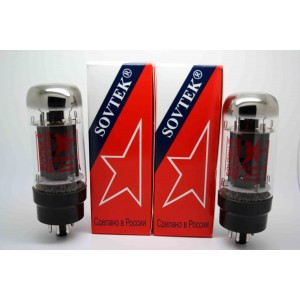 NEW SOVTEK 6L6WXT+ 6L6 MATCHED PAIR VACUUM TUBE AMP TESTED