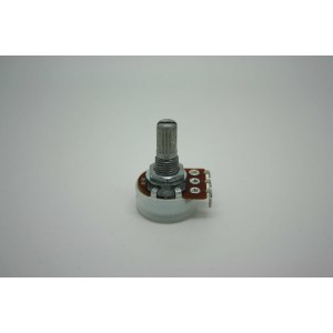 MINI POTENTIOMETER ALPHA A1K 1K 16mm AUDIO LOGARITHMIC POT - POTENCIOMETRO