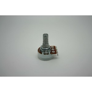 MINI POTENTIOMETER ALPHA A200K 200K 16mm AUDIO LOGARITHMIC POT - POTENCIOMETRO