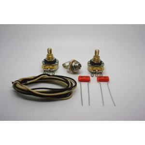 WIRING SUPER KIT FOR PRECISION BASS AND OTHER J-BASS STYLE BASS GUITAR BAJO
