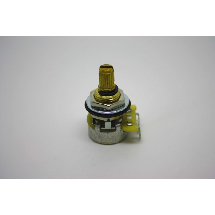 CTS AUDIO OVER 500K MINI POT POTENTIOMETER SPLIT SHAFT 9% TOLERANCE