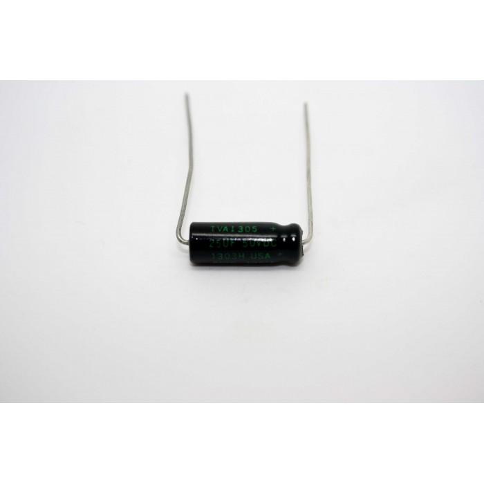 SPRAGUE ATOM 25uF 50V CAPACITOR FOR VINTAGE AMPLIFIER FENDER AMPEG TUBE AMP