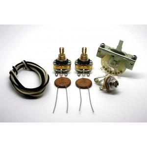 FENDER TELECASTER EXTRA VINTAGE WIRING KIT 0.05uf CERAMIC CAPACITORS - 1952 to 1966