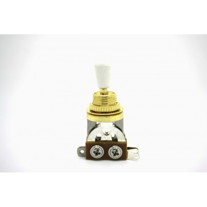 3 WAY GOLD TOGGLE SWITCH WHITE PICKUP SELECTOR FOR GIBSON EPIPHONE SG LES PAUL