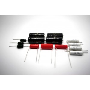 CAPACITOR KIT FOR FENDER PRO-AMP 5E5 MODEL TUBE AMP - AMPLIFIER - AMPLIFICADOR