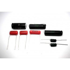 CAPACITOR KIT FOR FENDER PRINCETON 5C2 MODEL TUBE AMP - AMPLIFIER