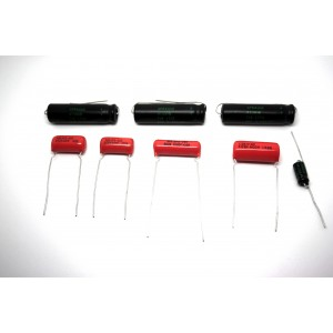 CAPACITOR KIT FOR FENDER PRINCETON 5F2 MODEL TUBE AMP - AMPLIFIER