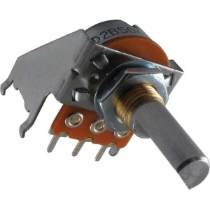 GENUINE POTENTIOMETER 50K 2B LINEAR WITH CENTER DETENT FOR FENDER RECENT AMPS