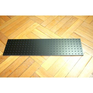 BLACK TURRET BOARD 258mm x 67mm 189 HOLES OF 2mm FOR TUBE AUDIO PROJECTS