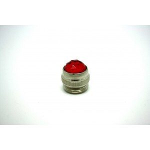 RED AMP JEWEL PILOT LIGHT FOR FENDER MESA MAGNATONE PEAVY MESA - LENTE FENDER