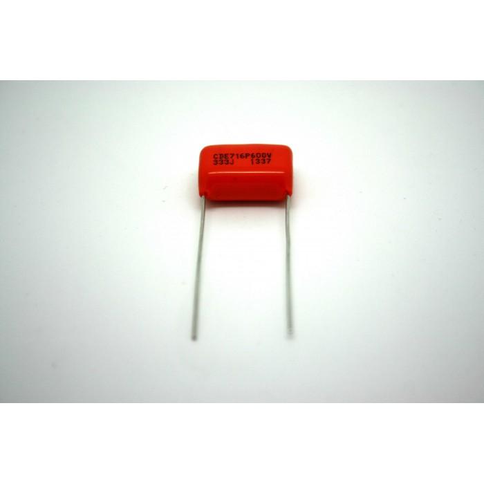 SPRAGUE ORANGE DROP 716P 0.033uf .033uF 600V FOR AMPLIFIER - VINTAGE FENDER