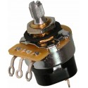 POTENTIOMETER CTS 10K AUDIO PUSH/PULL ON-OFF KNURLED SHAFT - VOLUME CONTROL
