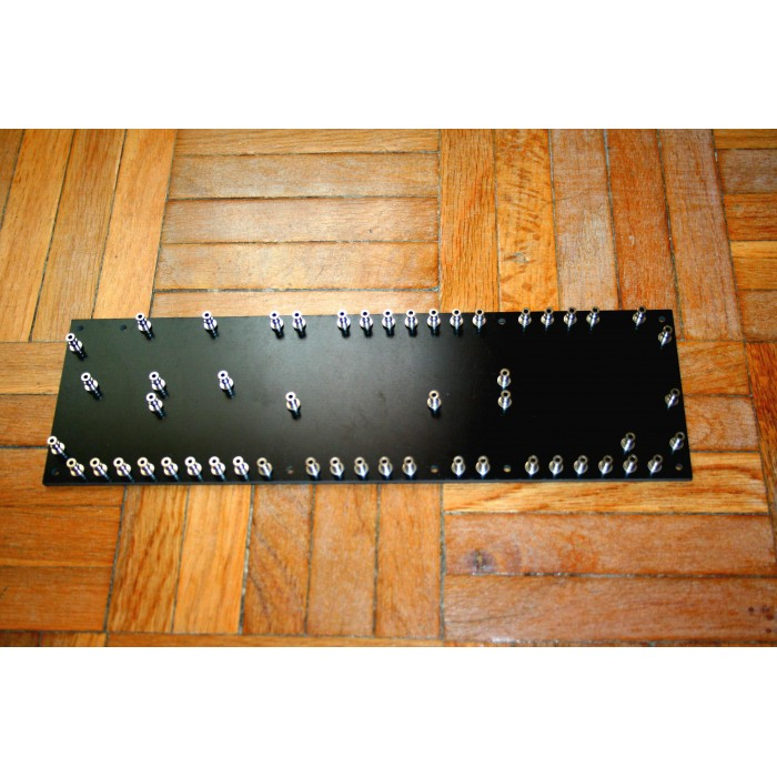 TURRET BOARD 258mm x 76mm WITH 52 TURRETS FOR MARSHALL JTM45 CLONE