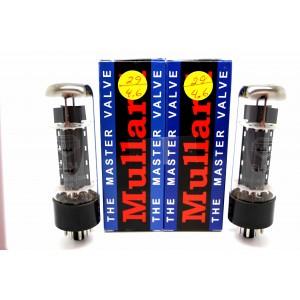 MULLARD EL34 MATCHED PAIR VACUUM TUBES TESTED! - APEX MATCHING