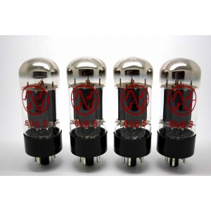 JJ TESLA 6V6S MATCHED QUAD VACUUM TUBE AMP TESTED - VÁLVULA DE VACIO - 6V6