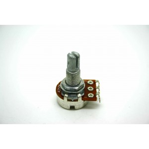 MINI POT POTENTIOMETER SPLIT SHAFT 250K AUDIO LOG 16mm - POTENCIOMETRO GUITARRA