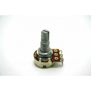 MINI POT POTENTIOMETER SPLIT SHAFT 500K LINEAR 16mm - POTENCIOMETRO LINEAL