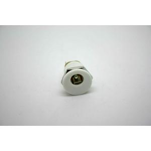WHITE DC POWER JACK 2.1mm PCB MOUNT JACK FOR LAPTOP JACK ALIMENTACION BOSS MXR