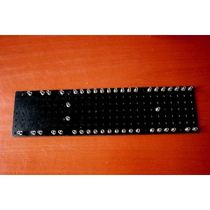 TURRET BOARD 255mm x 65mm FOR MARSHALL 18W STYLE WITH 45 TURRETS