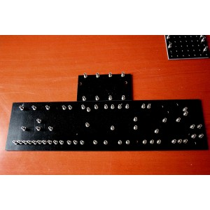 TURRET BOARDS 293mm x 75mm FOR FENDER 5F6A BASSMAN STYLE WITH 53 TURRETS