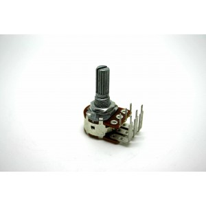 BOURNS 50K LOGARITHMIC AUDIO DUAL POTENTIOMETER 16mm KNURLED SHAFT