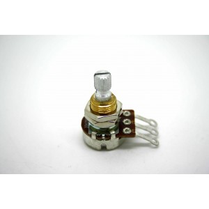 BOURNS 250K A250K AUDIO SPLIT SHAFT 16mm MINI POTENTIOMETER POT