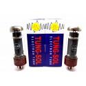 MATCHED PAIR TUNG-SOL EL34B EL34 VACUUM TUBE AMP TESTED! - VALVULA DE VACIO