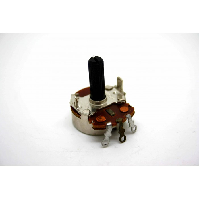 NEOHM POTENTIOMETER 500K LINEAR TAPER TWIST TAB MOUNT FOR ANTIQUE OLD RADIO