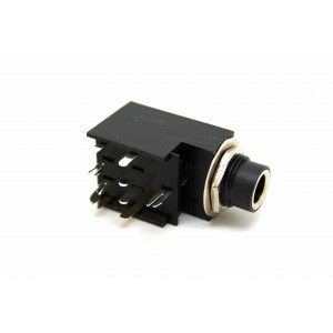 """FENDER STEREO AMPLIFIER 1/4"""" 6.3mm INPUT JACK 9 PIN 0990913000 FOR 1988 TO 1999 AMP"""