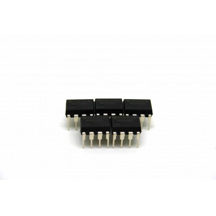 5x TEXAS INSTRUMENTS RC4558P IBANEZ TS-808 TS-9 TS-10 SUBS. JRC4558D