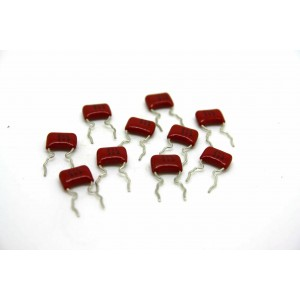 10x PANASONIC ECQ-V 0.039uF 50V CAPACITOR FOR BOSS IBANEZ MXR RAT DOD KEELEY MOD