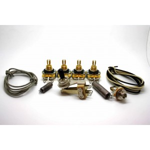 SUPER PREMIUM VINTAGE WIRING KIT K40Y-9 SOVIET CAPACITORS ERIC CLAPTON STYLE FOR GIBSON SG 335