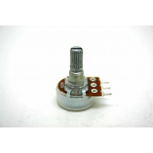 MINI POTENTIOMETER ALPHA A20K 20K 16mm LOGARITHMIC AUDIO PC MOUNT
