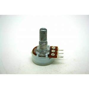 MINI POTENTIOMETER ALPHA A250K 250K 16mm LOGARITHMIC AUDIO PC MOUNT
