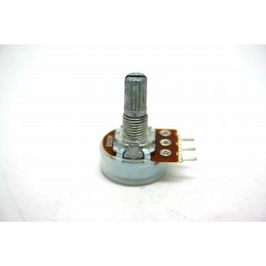 MINI POTENTIOMETER ALPHA B500K 500K 16mm LINEAR PC MOUNT