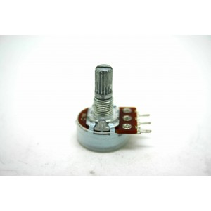 MINI POTENTIOMETER ALPHA C1M 1M 16mm REVERSE LOG PC MOUNT