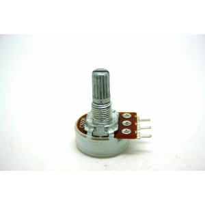 MINI POTENTIOMETER ALPHA C500K 500K 16mm REVERSE LOG PC MOUNT