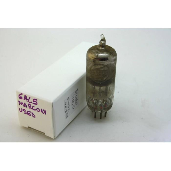 USED MARCONI EAA91 6AL5 CV283 VACUUM TUBE HICKOK TV-7D/U TEST