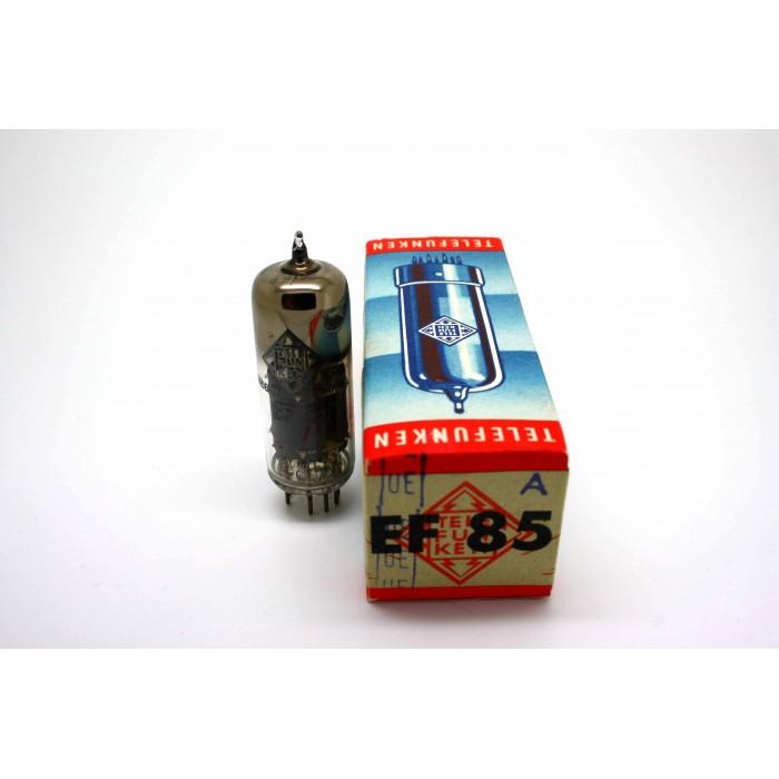 TELEFUNKEN EF85 VACUUM TUBE - MICROTRACER TEST!