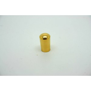 SWITCH CAP TOGGLE TIP KNOB GOLD CHROME FOR GIBSON OR EPIPHONE