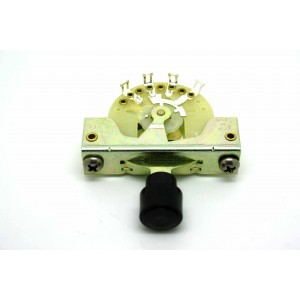 CRL 5-WAY PICKUP SELECTOR SWITCH WITH BLACK KNOB BARREL