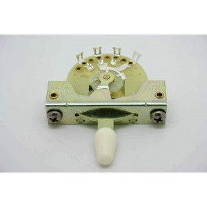 CRL 5-WAY PICKUP SELECTOR SWITCH WITH WHITE TIP KNOB