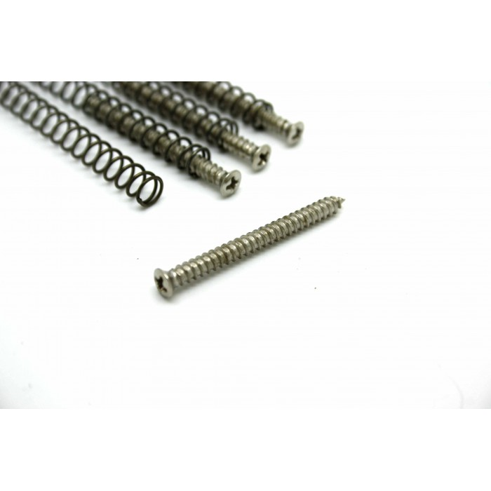4x P90 PICKUP MOUNTING SCREWS + SPRINGS - FITS CORRECTLY!