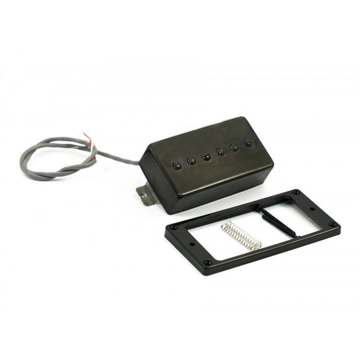 KENT ARMSTRONG CONVERTIBLE - P90 (HUMBUCKER RETROFIT) - BLACK METAL COVER RW/RP
