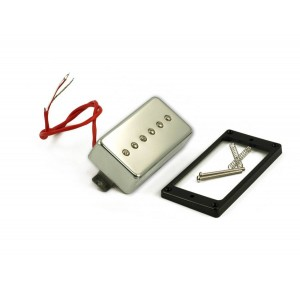 KENT ARMSTRONG CONVERTIBLE - P90 (HUMBUCKER RETROFIT) - CHROME METAL COVER