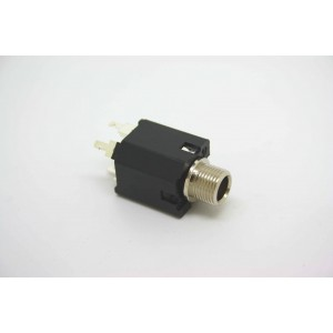 """PEAVEY 1/4"""" 6.35MM MONO 4 PIN HID INPUT JACK HIGH DEFINITION WITH METAL BUSHING"""