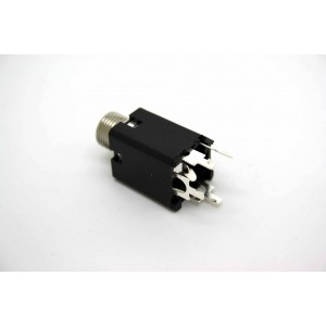 "PEAVEY 1/4"" 6.35MM MONO 4 PIN HID INPUT JACK HIGH DEFINITION WITH METAL BUSHING"