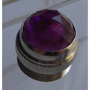 VIOLET AMP JEWEL PILOT LIGHT FOR FENDER MESA MAGNATONE PEAVY MESA - LENTE FENDER