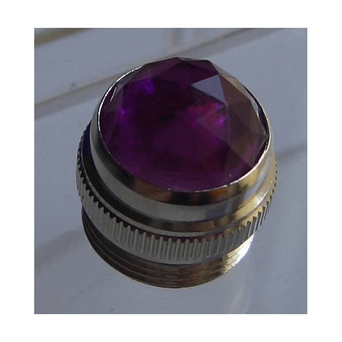 PURPLE AMP JEWEL PILOT LIGHT FOR FENDER MESA MAGNATONE PEAVY MESA - LENTE FENDER