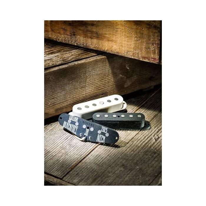 Lollar Pickups - Set of 3 Vintage Blackface Pickups for Strats - Flat Pole - White